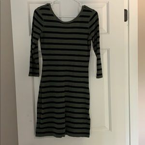 3/4 sleeve dress from Express